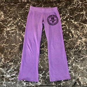 Victoria Secret PINK Purple Sweatpants